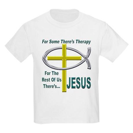 Jesus Therapy Kids Light T-Shirt
