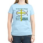 Jesus Therapy Women's Light T-Shirt