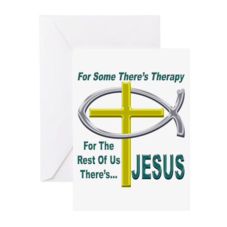 Jesus Therapy Greeting Cards (Pk of 20)