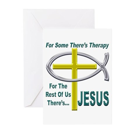 Jesus Therapy Greeting Cards (Pk of 10)
