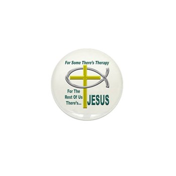 Jesus Therapy Mini Button (10 pack)