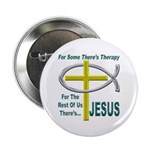 "Jesus Therapy 2.25"" Button (10 pack)"