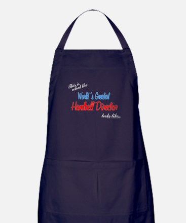 Cute Hand bell Apron (dark)