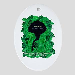 LOST Black Smoke Monster Ornament (Oval)