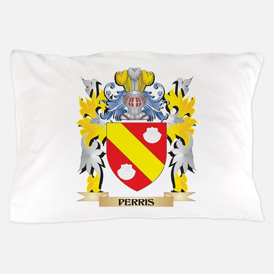 Perris Family Crest - Coat of Arms Pillow Case