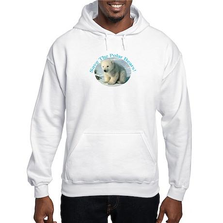 Polar Bears Hooded Sweatshirt