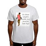 Do these weights Light T-Shirt