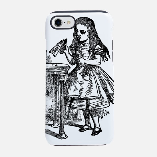 alice-drink-me_bk.png iPhone 7 Tough Case