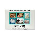 Their Fur Rectangle Magnet (100 pack)