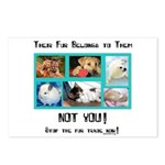 Their Fur Postcards (Package of 8)