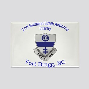 2nd Bn 325th ABN Inf Rectangle Magnet