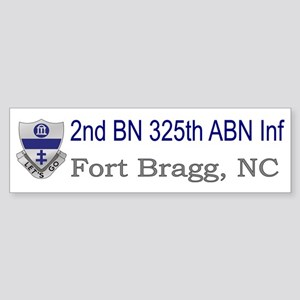 2nd Bn 325th ABN Inf Sticker (Bumper)