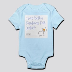 Infant Bodysuit - Born Fighting for Justice 2
