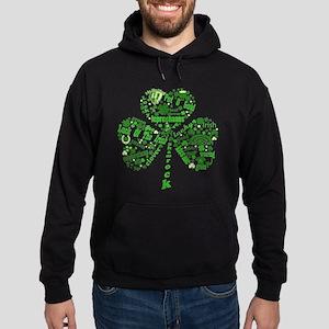 St Paddys Day Shamrock Hoodie (dark)