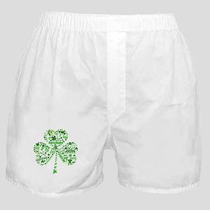St Paddys Day Shamrock Boxer Shorts