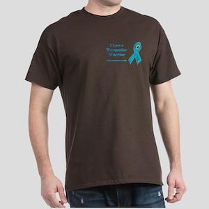 I Love a Turquoise Warrior Dark T-Shirt