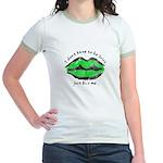 Just Kiss Me, Jr. Ringer T-Shirt