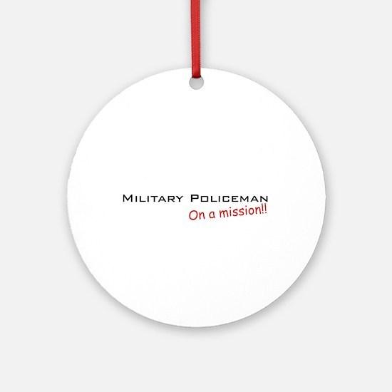 MP/Mission Ornament (Round)
