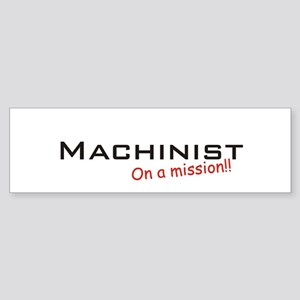 Machinist/Mission Sticker (Bumper)