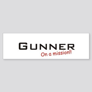 Gunner/Mission Sticker (Bumper)