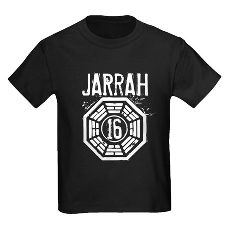 Jarrah - 16 - LOST Kids Dark T-Shirt