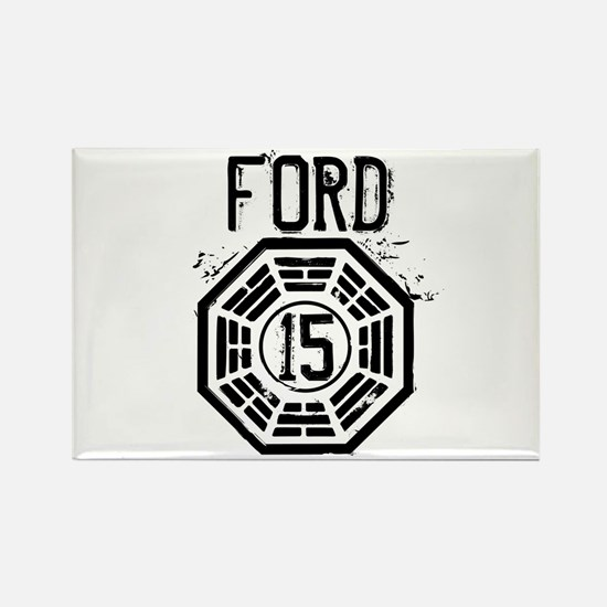 Ford - 15 - LOST Rectangle Magnet