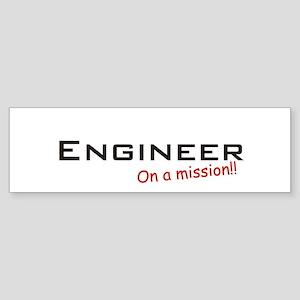 Engineer/Mission Sticker (Bumper)
