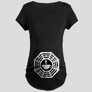 Java Station Maternity Dark T-Shirt