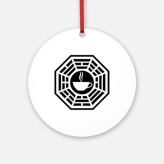 Java Station Ornament (Round)