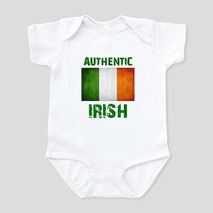 """""""Authentic IRISH"""" Flag Infant Bodysuit"""