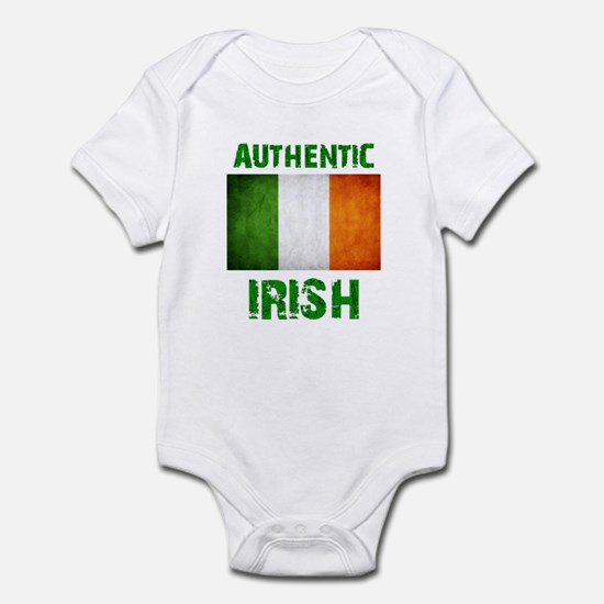 """Authentic IRISH"" Flag Infant Bodysuit"
