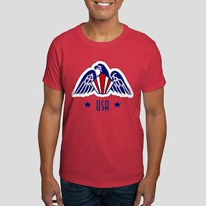 USA Gold Eagle-Art Deco Dark T-Shirt