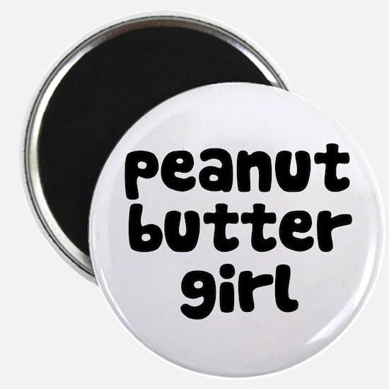 Peanut Butter Girl Magnet