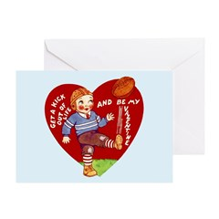 Retro Valentine's Day Greeting Card