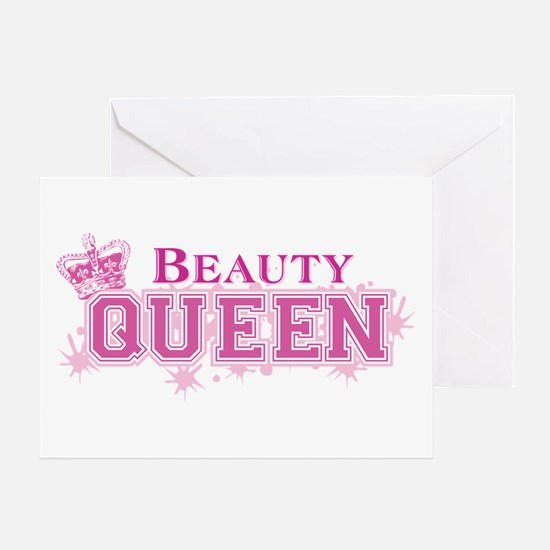 Beauty Queen Greeting Card