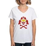 Lil' VonSkully Women's V-Neck T-Shirt