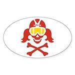 Lil' VonSkully Sticker (Oval 10 pk)