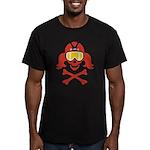 Lil' VonSkully Men's Fitted T-Shirt (dark)