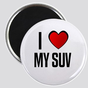 I LOVE MY SUV Magnet