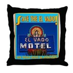 Save the El Vado Throw Pillow
