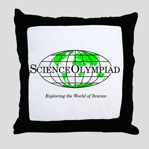 Science Olympiad Throw Pillow