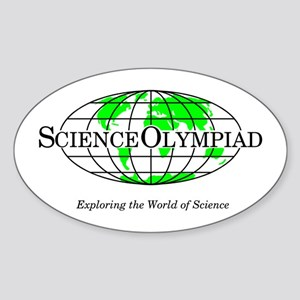 Science Olympiad Sticker (Oval)