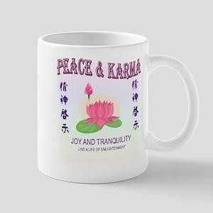 Peace & Karma Mug