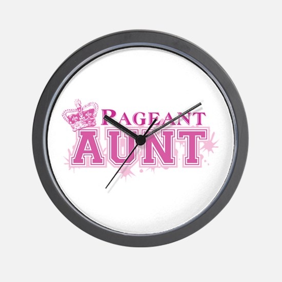 Pageant Aunt Wall Clock