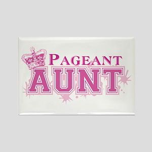 Pageant Aunt Rectangle Magnet