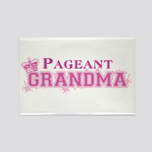 Pageant Grandma Rectangle Magnet