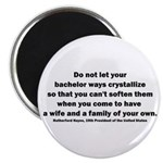 Rutherford B Hayes quote Magnet