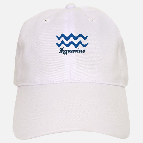 Aquarius Baseball Baseball Cap