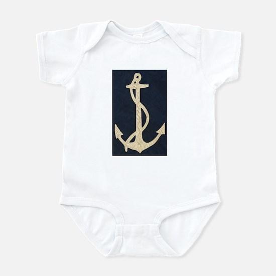 Old Flag Anchor Infant Bodysuit