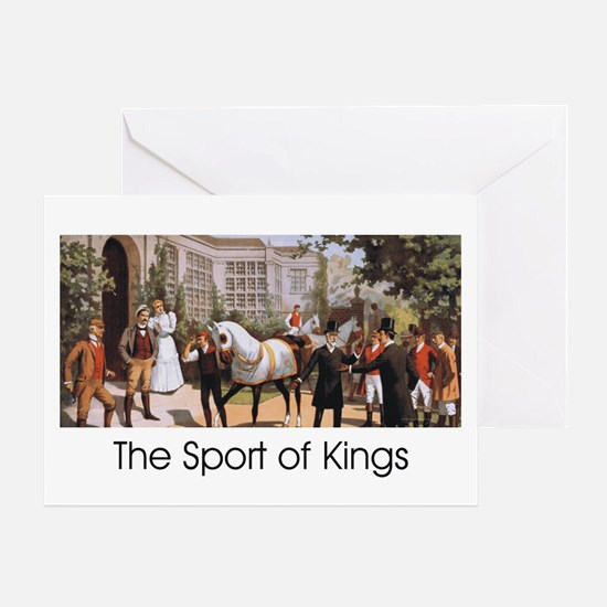 TOP Sport of Kings Greeting Card
